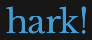 hark logo grey